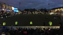 Lights go out during Leinster game in the RDS