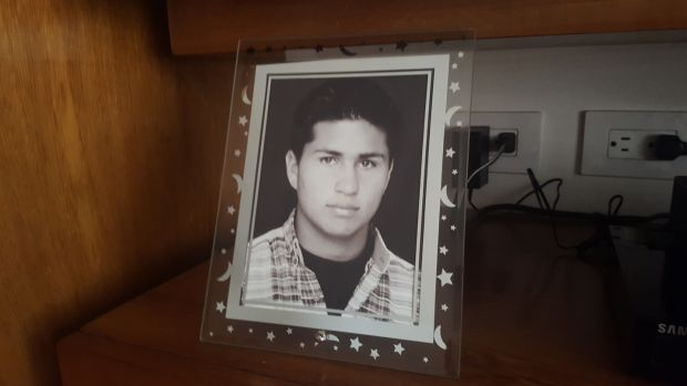 Martha Amorocho's son Alejandro, who died in the Farc bombing at El Nogal social club on February 7th, 2003. Photograph: David McKechnie