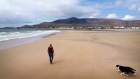 Lost Achill Island beach comes back to life