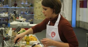 Alison O'Reilly survived Monday's first semi-final round in BBC MasterChef and has reached the final eight