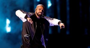 Canadian music star Drake: His song 'One Dance' was the biggest digital single of 2016, according to the IFPI. Photograph: Steve Marcus/Reuters