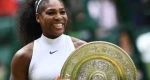 Serena Williams won £2 million for winning Wimbledon last summer. Photograph: Glyn Kirk/AFP/Getty Images