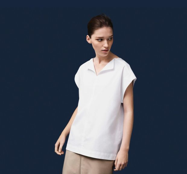 Organic cotton white shirt, €59 from the Cos 10th anniversary collection