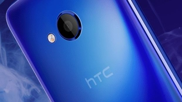 Visually appealing: The HTC U Play's shiny design makes it stand out from the big manufacturers like Samsung and Apple