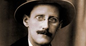 James Joyce,  circa 1917. Photograph: Hulton Archive/Getty Images