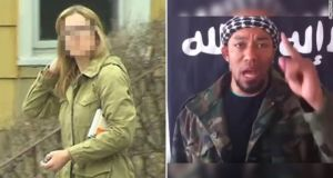 Former FBI translator Daniela Greene and German rapper Denis Cuspert, who praised Osama bin Laden in song, threatened Barack Obama with a throat-slitting gesture and held a severed human head in an Isis propaganda video