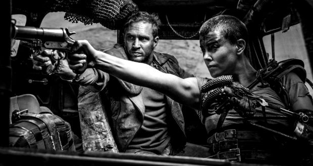 Mad Max Fury Road Black And Chrome Edition: Allow The Grey Glow To Wash Out Awesome Design