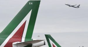 Alitalia is facing competition from carriers such as Ryanair, EasyJet and Vueling.