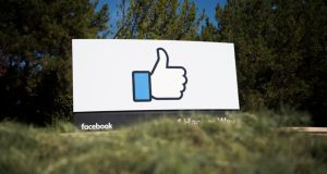 Facebook is the last of the top five US tech companies to report quarterly earnings. Photograph: AFP
