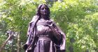 'The White Woman of the Genesee': statue to Irishwoman Mary Jemison.