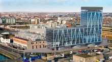 Dublin's tallest office building to house up to 2,000 office workers