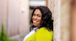 "Angie Thomas on The Hate U Give: ""If it becomes a classic, great, but  let it be an outdated classic"". Photograph: Anissa"
