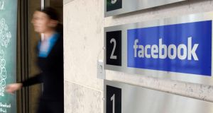 Facebook interns can also expect perks such as free food and maybe even free accommodation. Photograph: RollingNews.ie