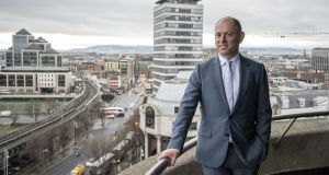 Irish Life chief executive David Harney said the company has seen increased investment across its pension, investment and savings plans. Photograph: Brenda Fitzsimons