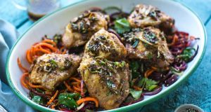 Donal Skehan recipe: Bang bang numbing chicken salad