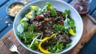 Vietnamese beef and mango salad