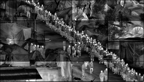 The Irish photographer Richard Mosse has won the world's leading photography award. He wins the €92,000 Prix Pictet for his Heat Map series of images.  Richard Mosse, Grid (Moria)