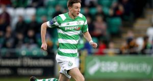 Shamrock Rovers captain Ronan Finn has said he understands fans' disappointment with the club's form ahead of their clash with his former club Dundalk. Photograph: Ryan Byrne/Inpho