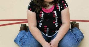 The study found young girls in primary schools are more at risk of being overweight or obese than boys, but that the gap decreased as the children got older. Image: Getty