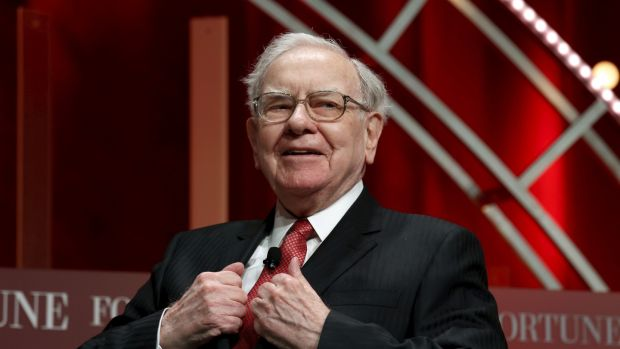 Warren Buffett, chairman and CEO of Berkshire Hathaway, won his $1 million bet with Protégé Partners that the S&P 500 would outperform a selection of hedge funds. Photograph: Kevin Lamarque/Reuters