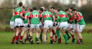 A senior football match due to be played on Friday night between Loughmore-Castleiney and Éire Óg Annacarty was postponed as a mark of respect, due to the death of Tom Kennedy. Photograph: Donall Farmer/Inpho
