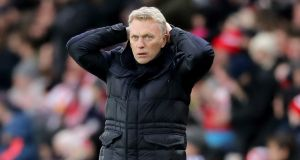 "Sunderland boss David Moyes: ""I've got a four-year contract and I'll be Sunderland manager next season."""