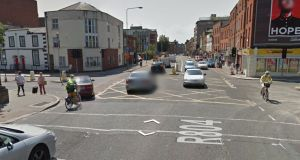 The junction of Dorset Street and Dominick Street, Dublin city, where the collision occurred. File photograph: Google Street View