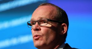 Minister for Housing Simon Coveney has backed the Garda Commissioner. Photograph: Nick Bradshaw/The Irish Times