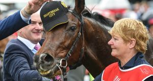 Heartbreak City has been put down after a gallops accident. Photograph: Brett Holburt/Getty