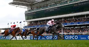 Wayne Lordan and Winter took the 1000 Guineas at Newmarket. Photograph: Alan Crowhurst/Getty