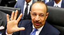 "Saudi Arabia's energy minister  Khalid Al-Falih: said he expected an Opec-led deal to cut output to be extended to the rest of 2017 ""and possibly beyond"". Photograph: Reuters"