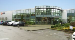The building leased to Trend Micro in the Cork Technology and Business Park, currently renting at €466,037.