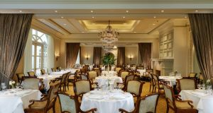 It's Irish asparagus season at Seasons  restaurant in the InterContinental Hotel, Dublin