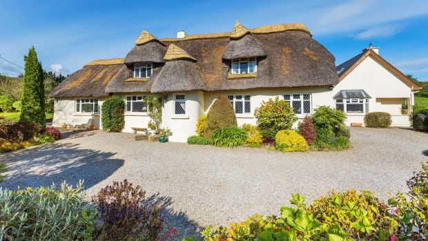 Postcard Perfect Thatched Cottage In Delgany For EUR850000