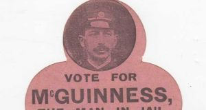 Joe McGuinness: his byelection victory for Sinn Féin in 1917 presaged  the electoral wipeout of the Irish Party
