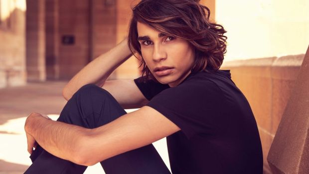 Isaiah Firebrace: Owner of the best side fringe since Harry Styles and Australia's hopeful in Kiev.