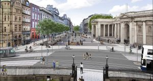 Plans for the College Green Plaza will be submitted to An Bord Pleanála in March.