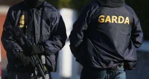 The two were picked up in the Dublin area by members of the Counter Terrorism International Unit. Photograph: PA