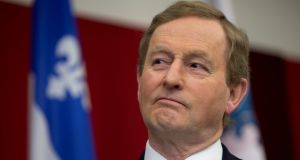 Taoiseach Enda Kenny during his visit to Canada on May 4th. Photograph: Reuters/Christinne Muschi