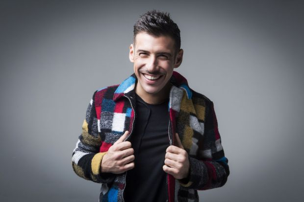 Francesco Gabbani: hot favourite representing Italy