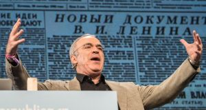 Former world chess champion Garry Kasparov, speaking at the Re:publica digital culture festival in Berlin.