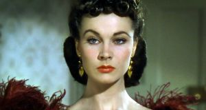 "Vivien Leigh as Scarlett O'Hara: ""the land is the only thing that matters because it is the only thing that lasts""."