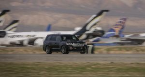 The 2,000hp Toyota Land Cruiser that hits 370km/h at the Mojave track in California
