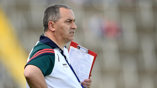 Carlow manager Turlough O'Brien. Photograph: Tommy Grealy/Inpho