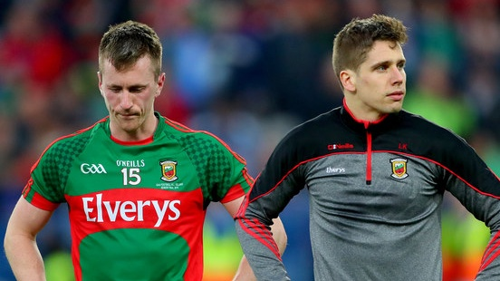 Cillian O'Connor and Lee Keegan are getting ready to do it all again. Photograph: James Crombie/Inpho