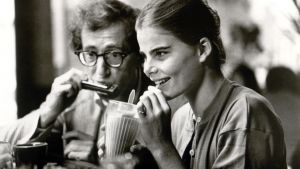 Woody Allen and Mariel Hemingway in Manhattan. This fitfully amusing comedy is now majorly compromised by its May-December romancing