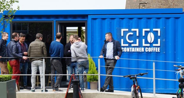 Image result for container coffee dublin