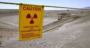 The incident occurred at a facility known as PUREX, located in the middle of the sprawling Hanford nuclear site,  an official said. File photograph: Getty Images