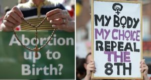 The Citizens' Assembly recommended that abortion should be permitted in the State in a wide range of circumstances, which would require a significant liberalisation of the current regime in the State. File photographs: The Irish Times