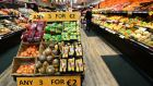 The anti-obesity code says in-store communications will have to actively promote the consumption of five to seven portions of fruit and vegetables a day to customers. Photograph: Eric Luke